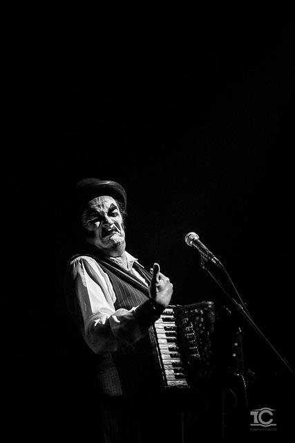 Martyn Jacques de la Tiger Lillies live la Cluj