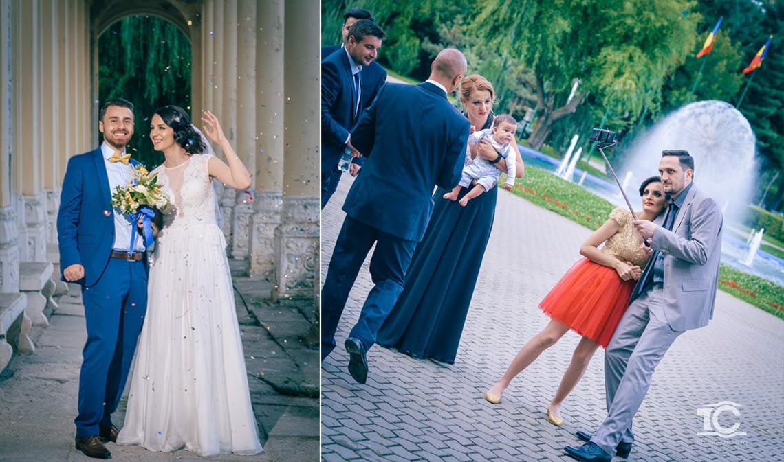 sedinta foto in ziua nuntii alina si george
