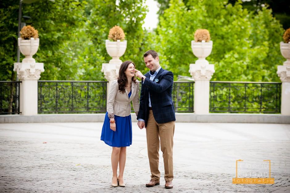 Sedinta foto Roxana si Mihail in parc