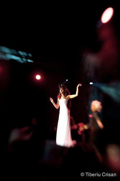 Emma Shapplin in concert la Sala Palatului, Bucuresti 2011.