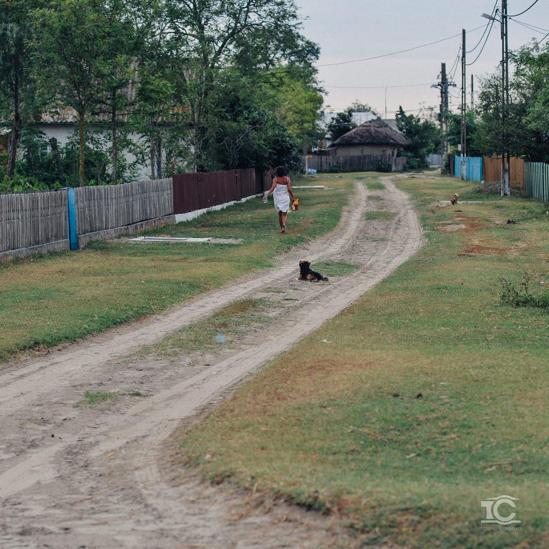 Pe ulita satului Sfantu-Gheorghe