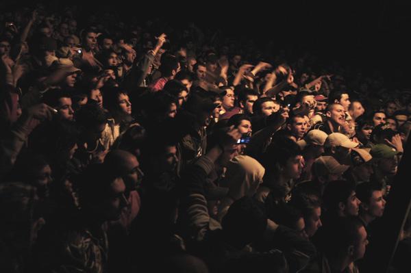 hip hop audience