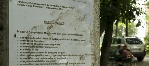 mogosoaia palace rules