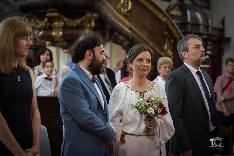 nunta la biserica piarista cluj
