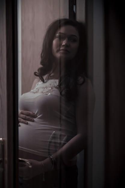 Portret de gravida