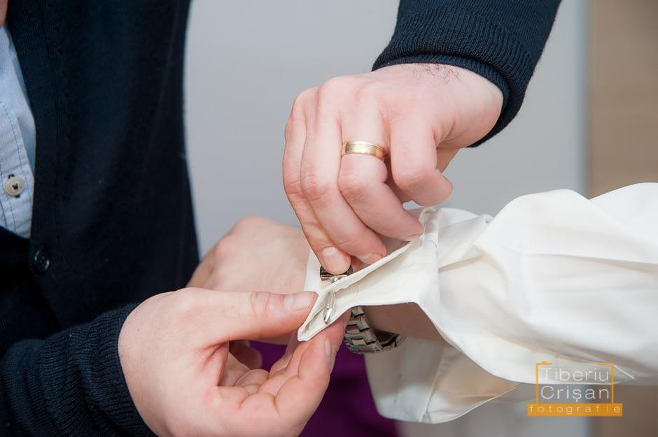 Mirele si nasul sau la pregatiri de nunta