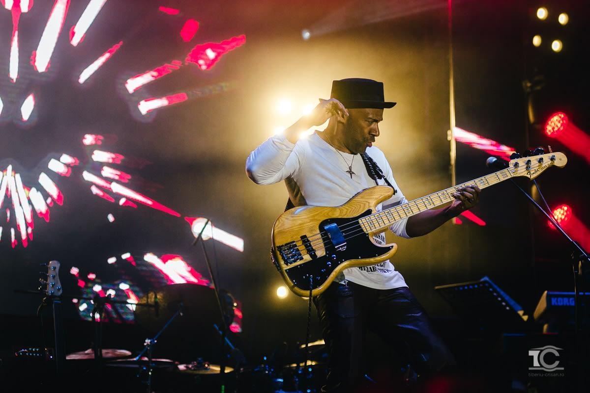 Marcus Miller in concert la Cluj