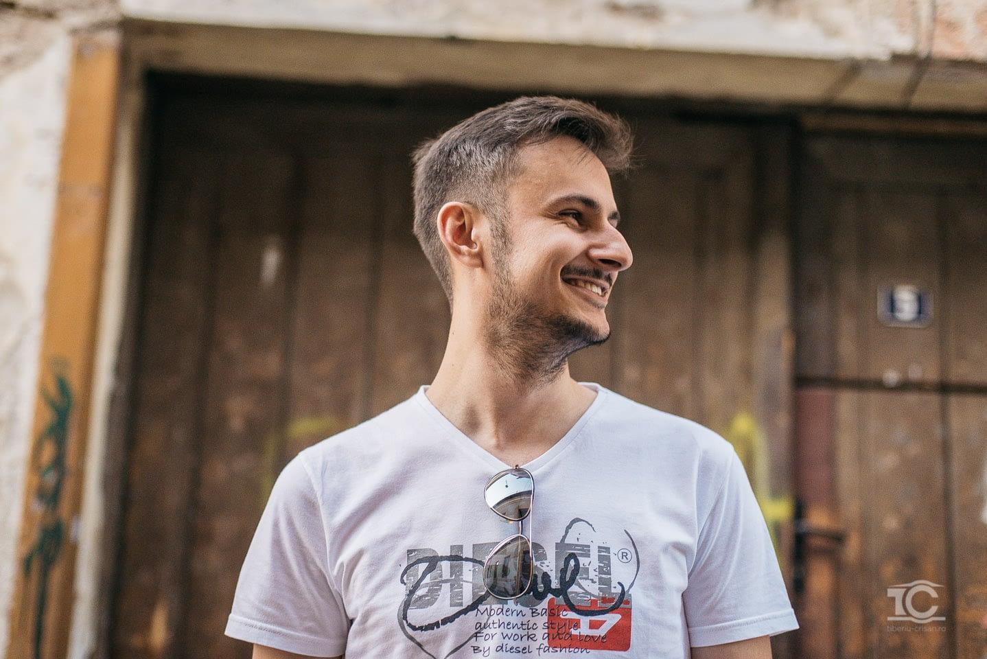 sedinta foto Lucian la Cluj
